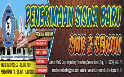 Info PPDB SMK Negeri 2 Sewon